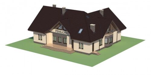 Projekt domu DM-6044 - model