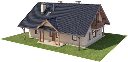 Projekt domu L-6282 - model