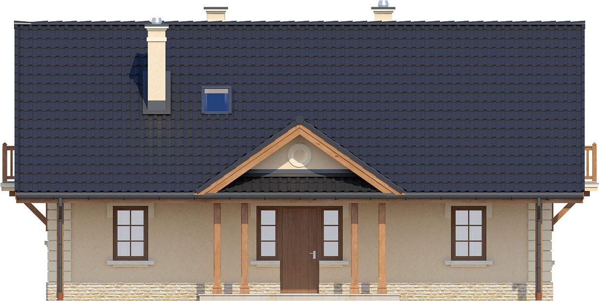 Projekt domu L-6282 - elewacja