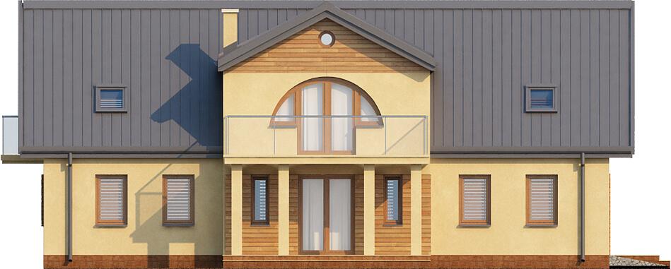 Projekt domu L-6290 - elewacja
