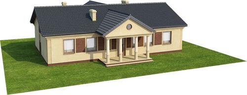 Projekt domu L-6291 - model