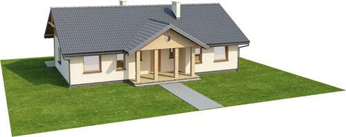 Projekt domu L-6292 - model