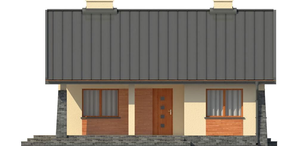 Projekt domu L-6298 - elewacja