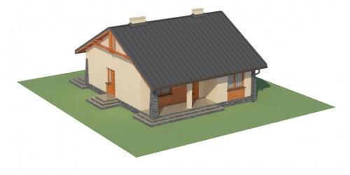 Projekt domu L-6298 - model