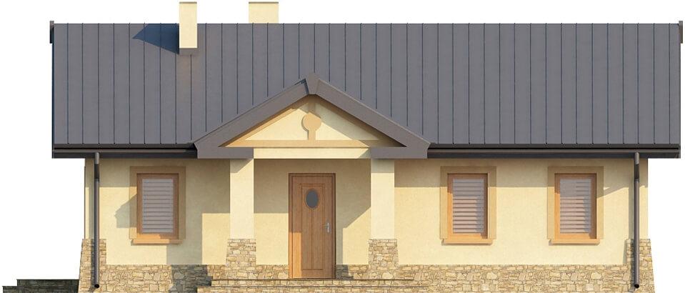 Projekt domu L-6300 - elewacja