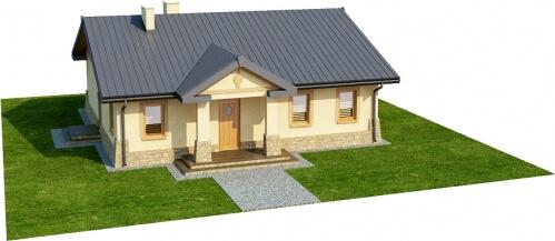 Projekt domu L-6300 - model