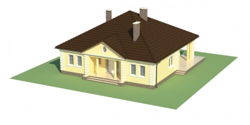 Projekt domu L-6303 - model