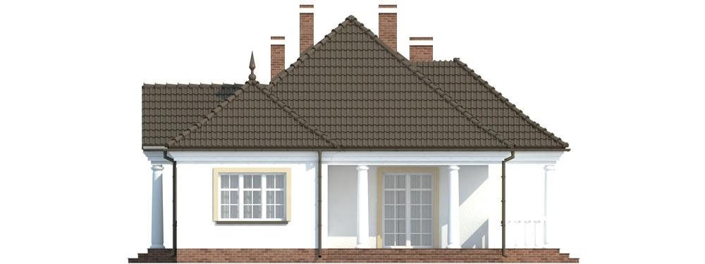 Projekt domu L-6313 - elewacja