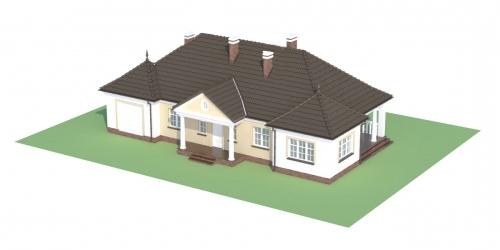 Projekt domu L-6313 - model