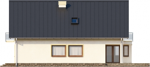 Projekt domu L-6315 - elewacja