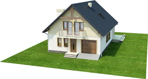 Projekt domu L-6315 - model