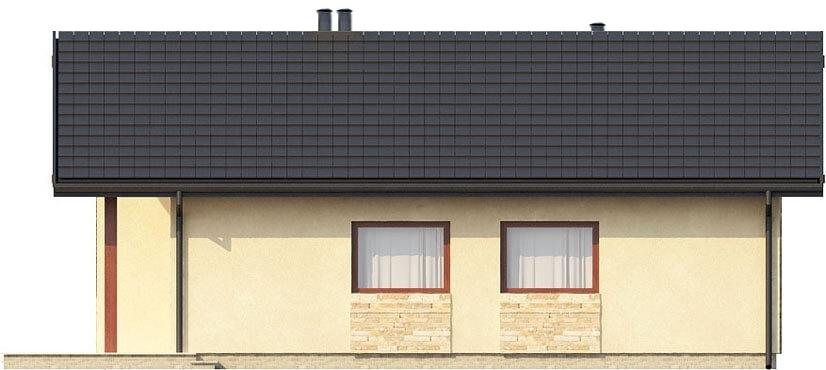 Projekt domu DM-6306 - elewacja
