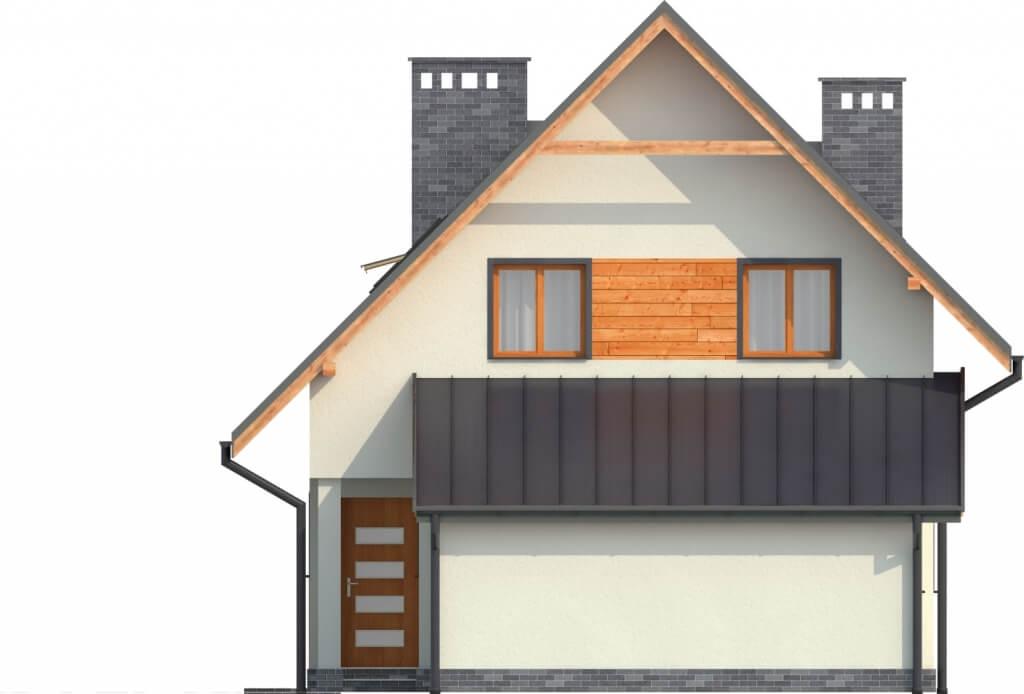Projekt domu DM-6277 - elewacja