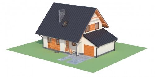Projekt domu DM-6277 - model