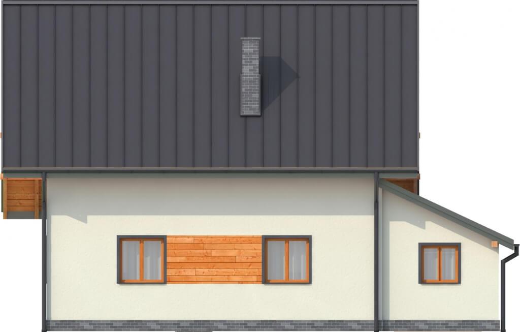 Projekt domu L-6277 - elewacja