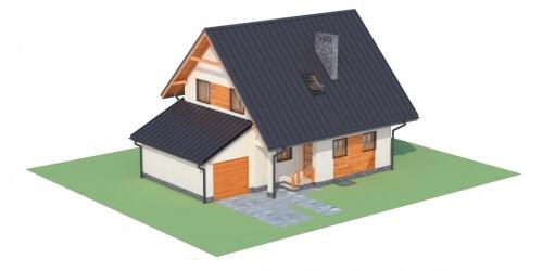 Projekt domu L-6277 - model
