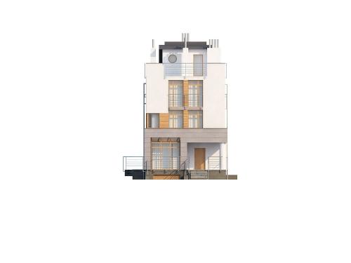 Projekt domu L-6195 - elewacja