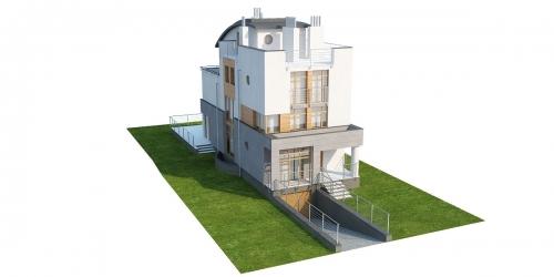 Projekt domu L-6195 - model