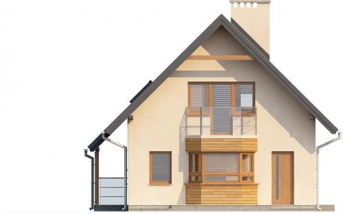 Projekt domu DM-6294 - elewacja