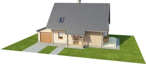 Projekt domu DM-6294 - model