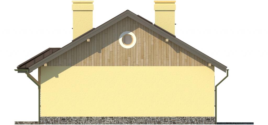Projekt domu DM-6299 - elewacja