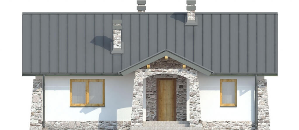 Projekt domu DM-6301 - elewacja