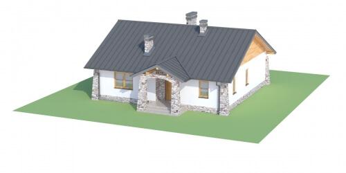 Projekt domu DM-6301 - model