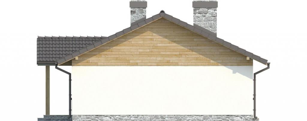 Projekt domu DM-6302 - elewacja