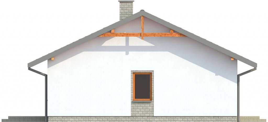 Projekt domu DM-6305 - elewacja