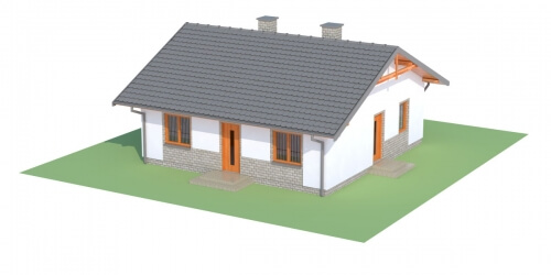 Projekt domu DM-6305 - model