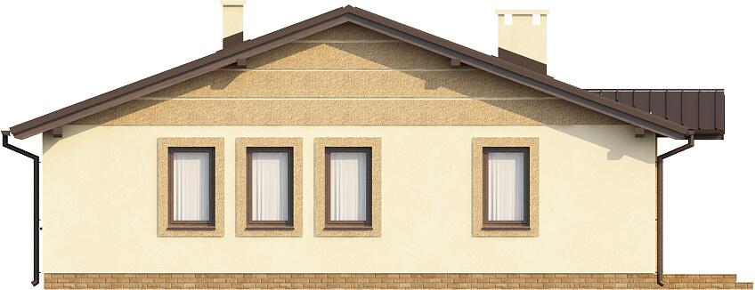 Projekt domu DM-6308 - elewacja