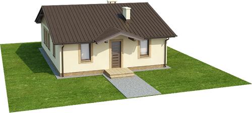 Projekt domu DM-6308 - model