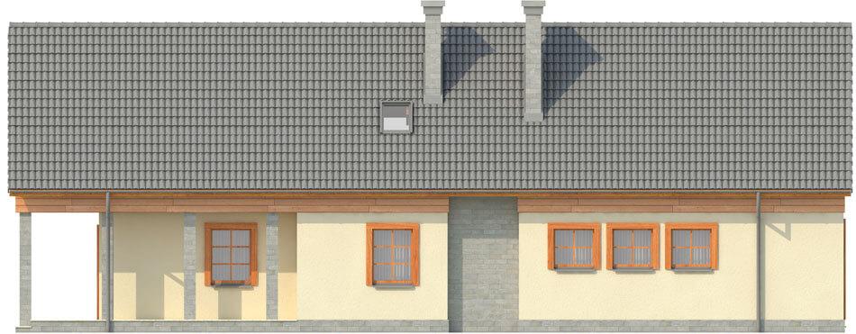 Projekt domu DM-6310 - elewacja