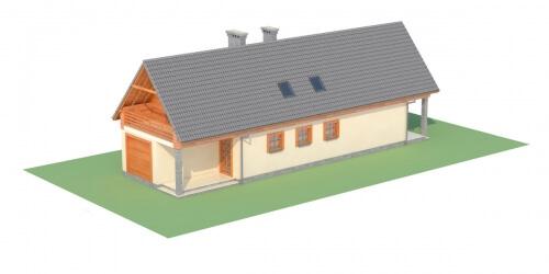 Projekt domu DM-6310 - model