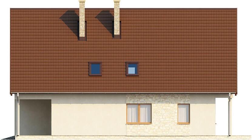 Projekt domu DM-6311 - elewacja