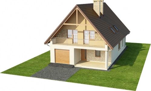 Projekt domu DM-6311 - model