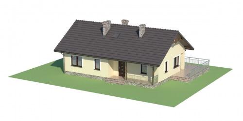 Projekt domu DM-6319 - model