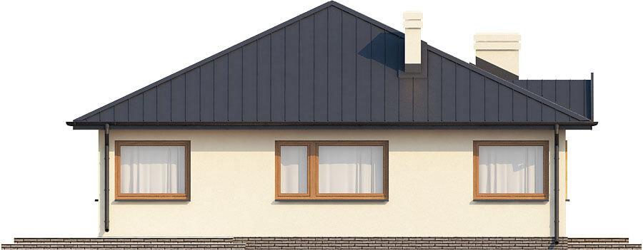 Projekt domu DM-6322 - elewacja