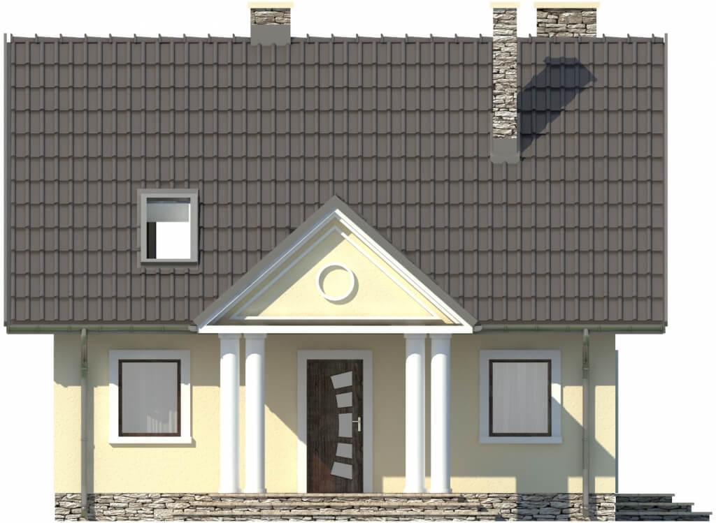 Projekt domu L-6268 - elewacja