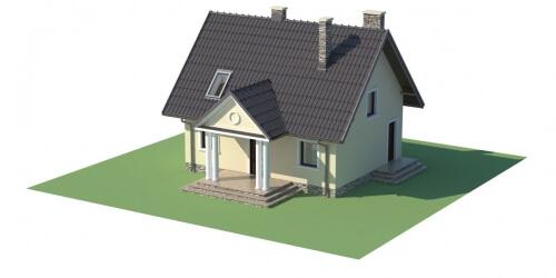 Projekt domu L-6268 - model