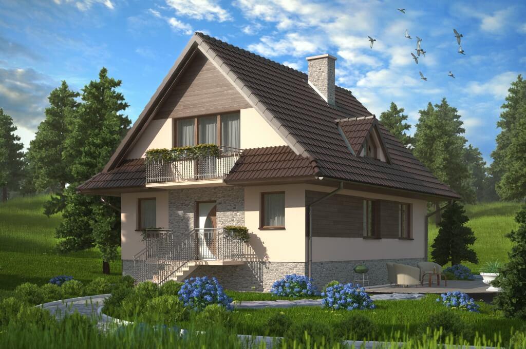 Projekt Domu Nidzica Dm 6077 Pow Uż 11250 M2 Projekty