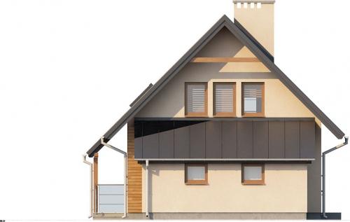 Projekt domu L-6294 - elewacja