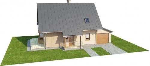 Projekt domu L-6294 - model