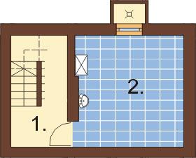 Projekt domu L-6294 - rzut