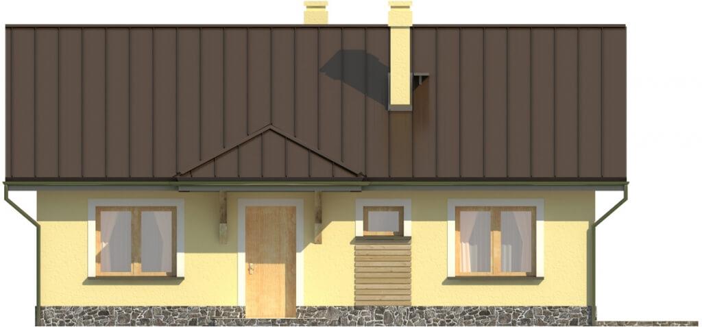Projekt domu L-6299 - elewacja
