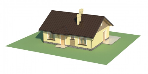 Projekt domu L-6299 - model