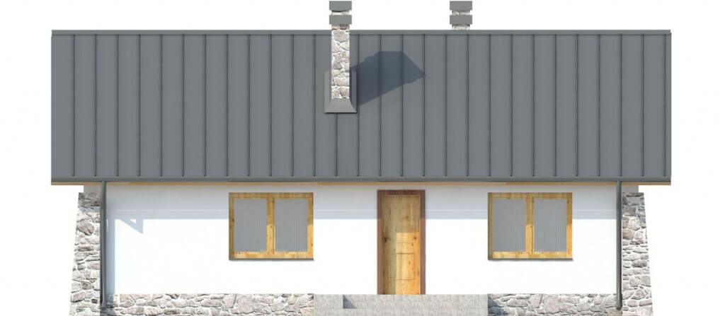 Projekt domu L-6301 - elewacja