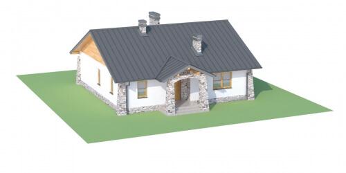 Projekt domu L-6301 - model