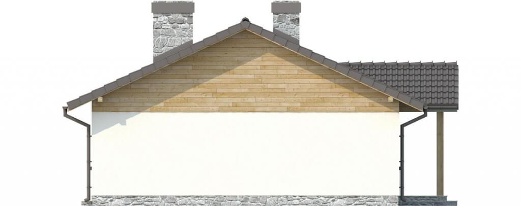 Projekt domu L-6302 - elewacja