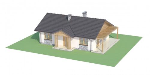 Projekt domu L-6302 - model